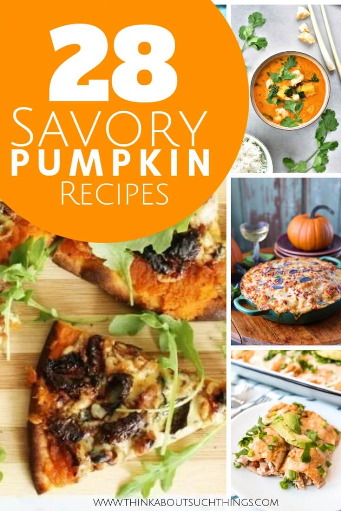 Homemade Savory Pumpkin Recipes that are easy