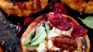 Roasted Sweet Potato Rounds Appetizer