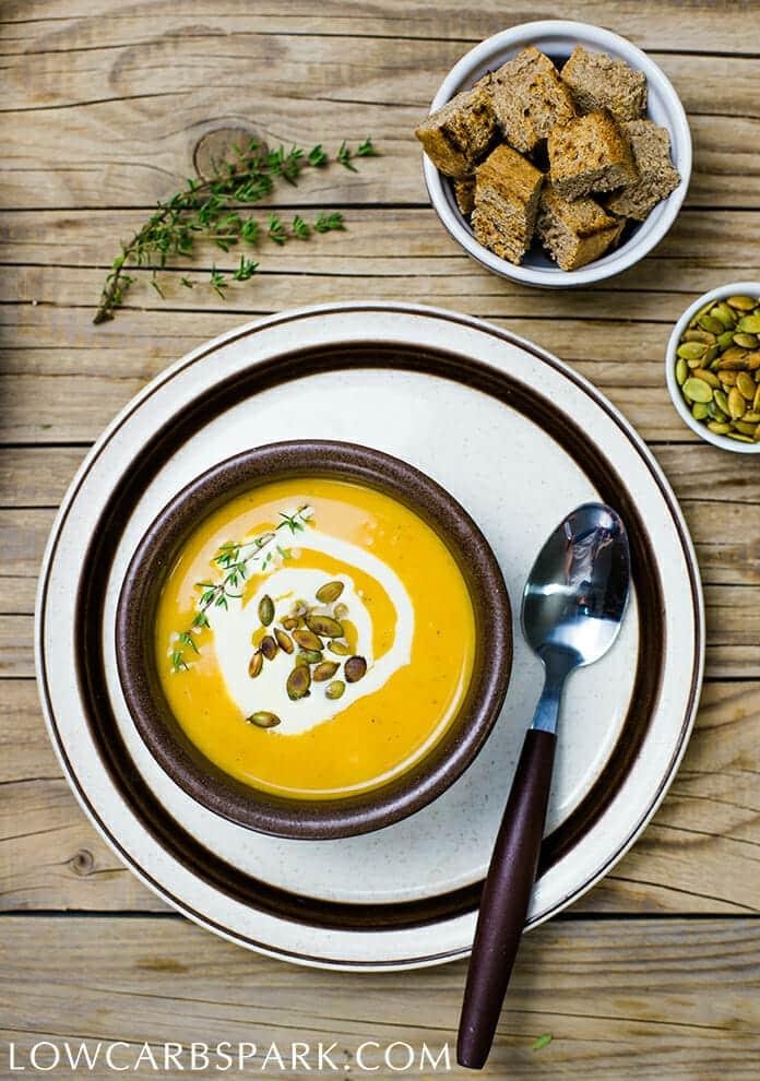Simple Creamy Pumpkin Soup Recipe