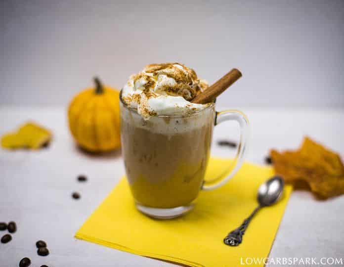 Healthy Keto Pumpkin Spice Latte