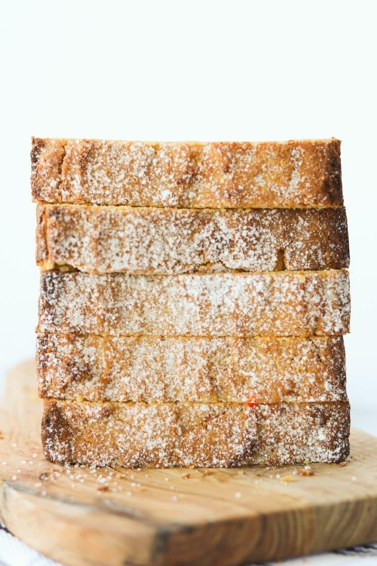 Creamy Keto Pumpkin Bread
