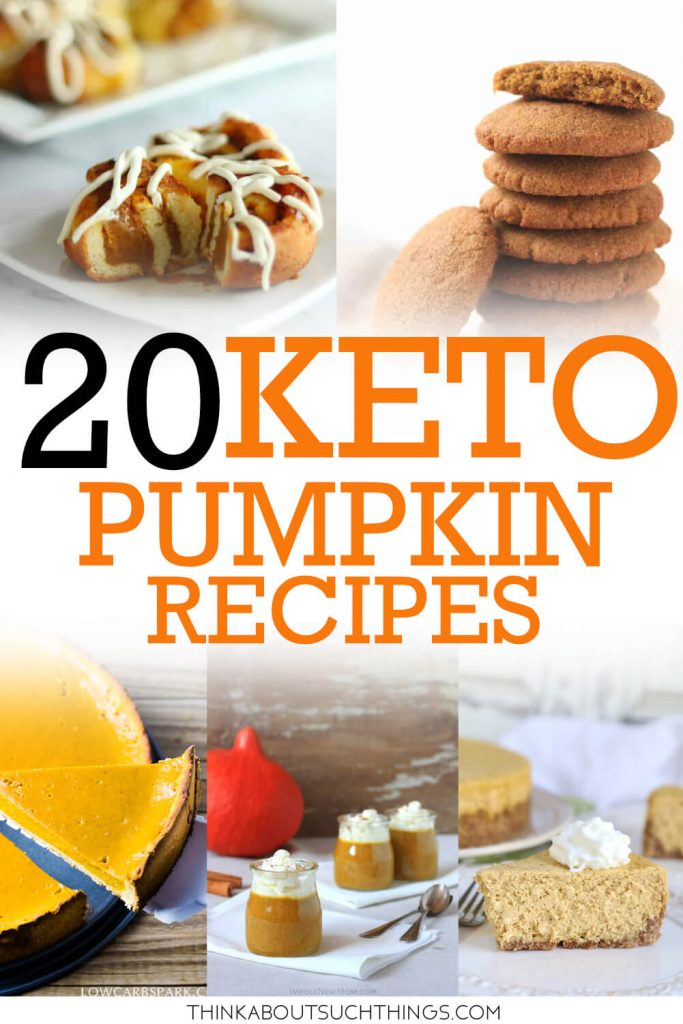 Low Carb and Keto Pumpkin Recipes. Great for fall and sticking to your diet.