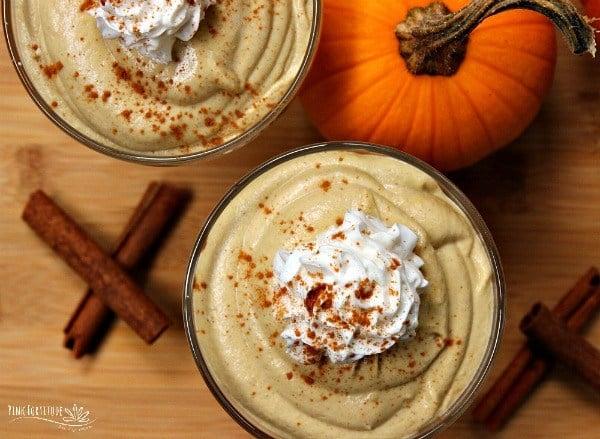 Keto Pumpkin Spice Mousse