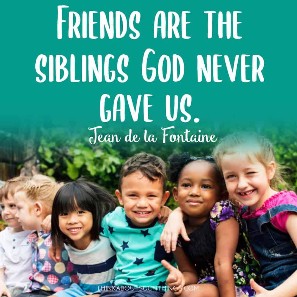 spiritual quotes about friendship by Jean de la Fontaine