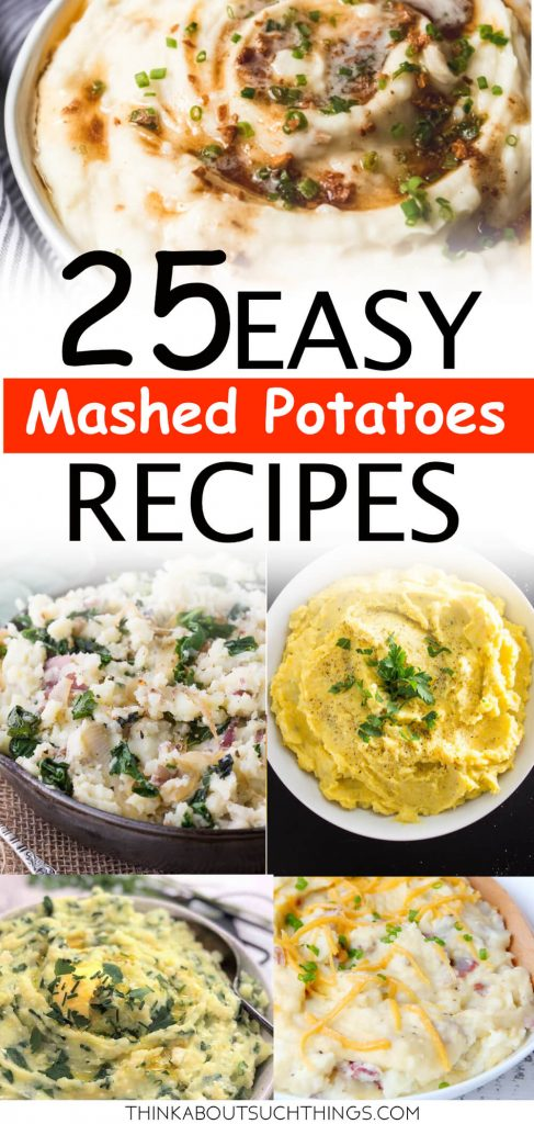 25 Mashed Potatoes recipes