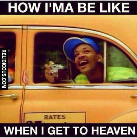 heaven meme