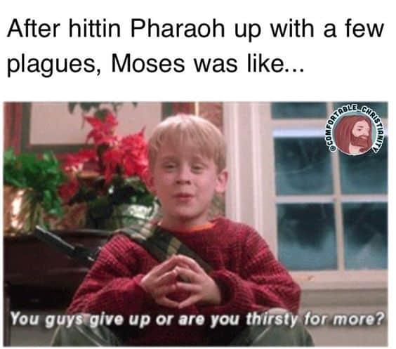 Bible Moses Meme