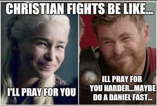Prayer meme - I'll pray for you