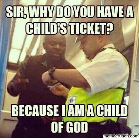 Child of God meme