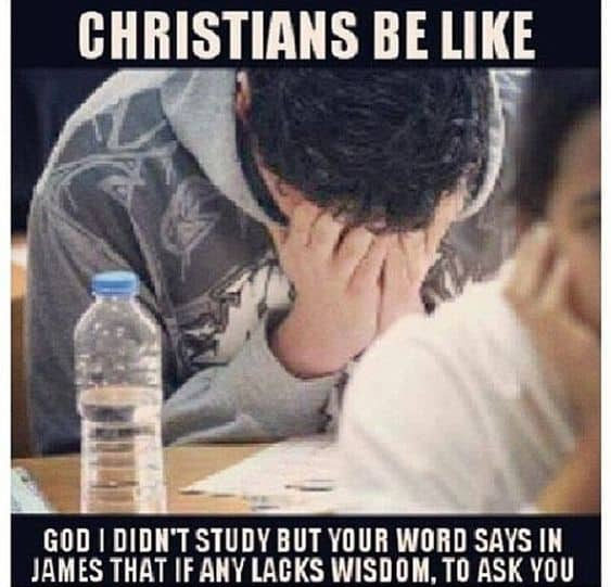 Funny Christian meme