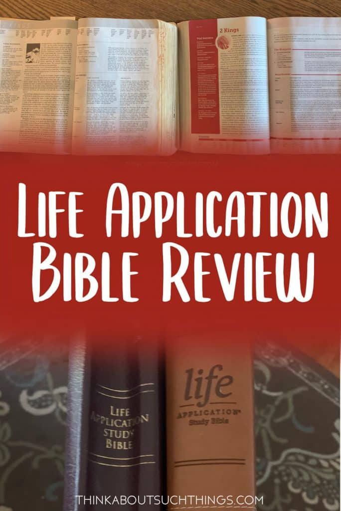 NIV Life Application Bible Review
