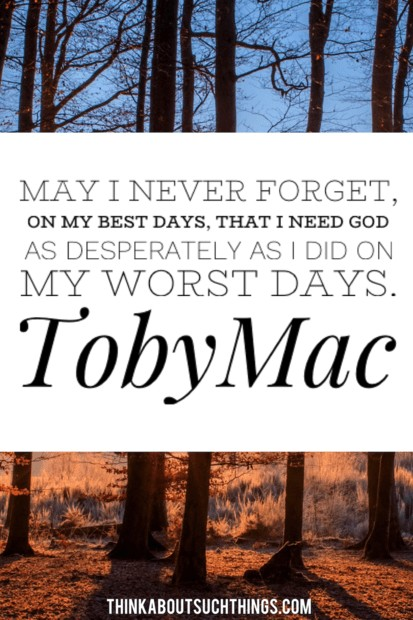 Quotes by Tobymac