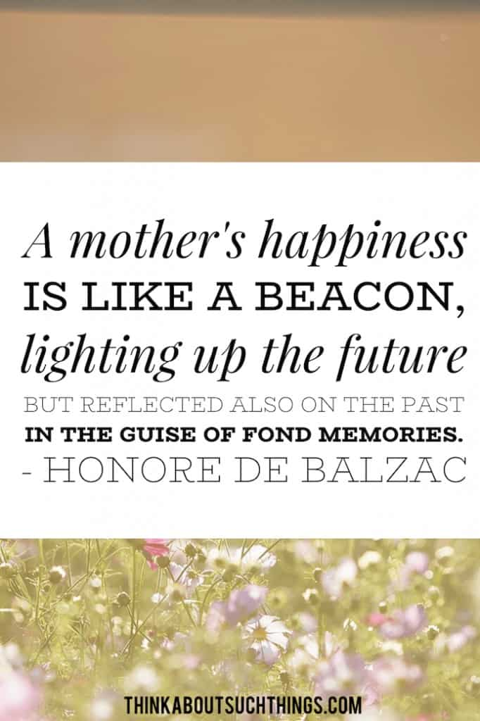 I love you mom quote. She is like a beacon
