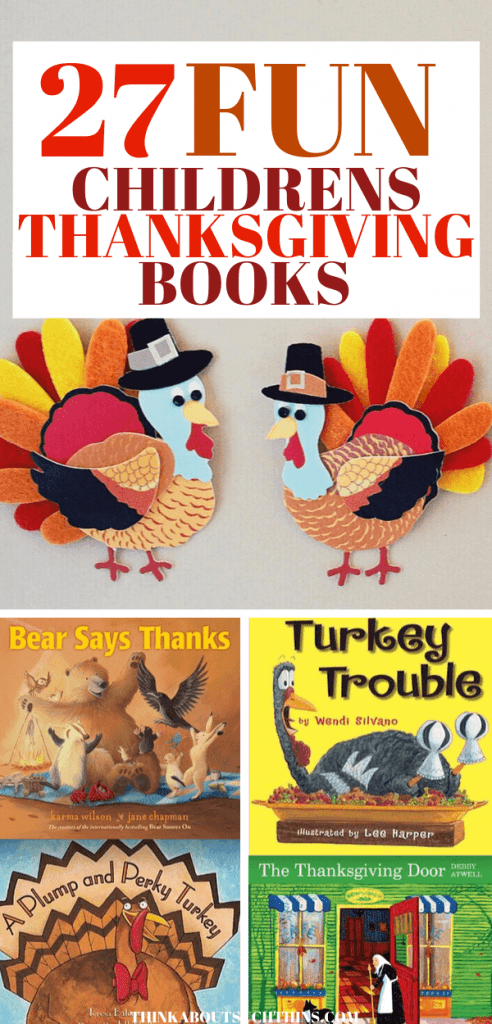 27 Books Thanksgiving books for kids