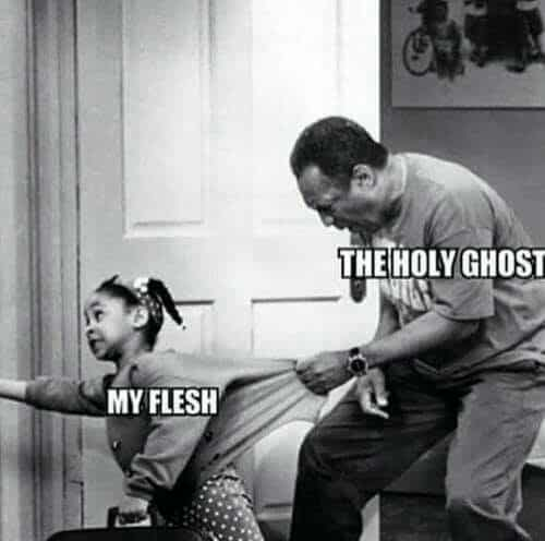 Holy Ghost Meme