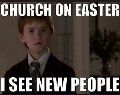 Church Easter Meme