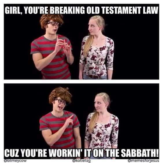 Sabbath meme