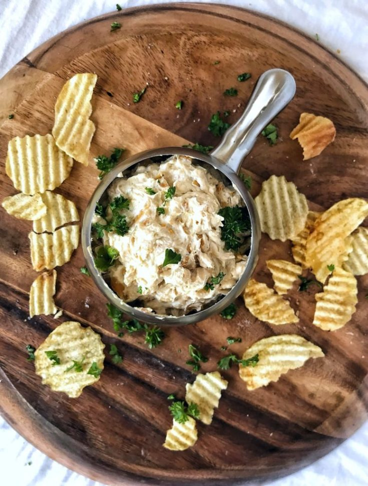 French Onion Dip Recipe from Scratch
