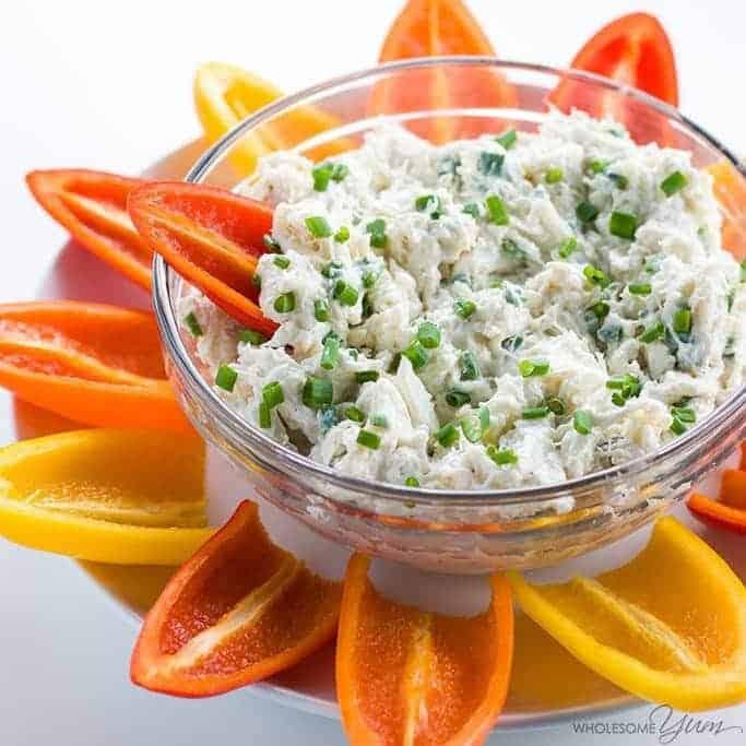 Cold Crab Dip Recipe with Cream Cheese
