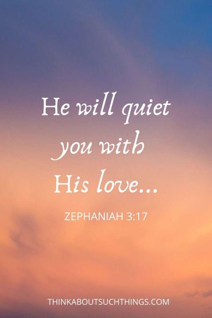 bible verses about god's love for you - Zephaniah 3:17