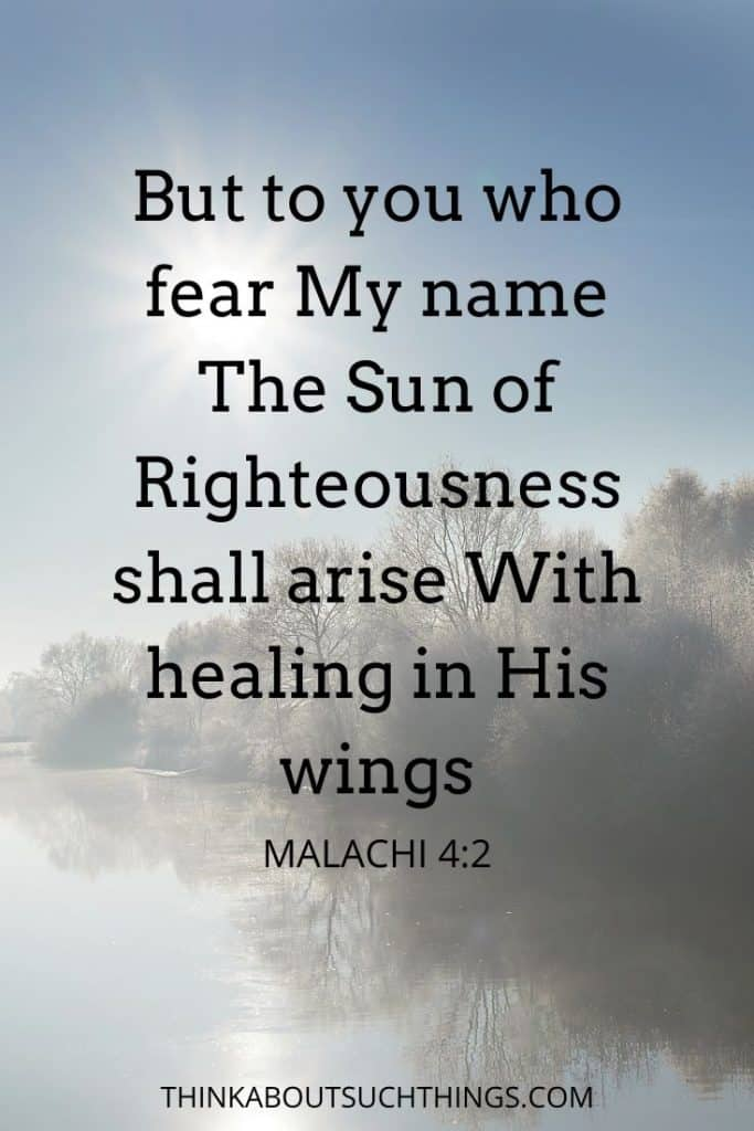 bible verses about healing the sick