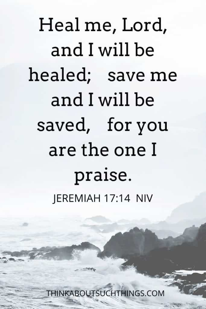 scriptures on healing