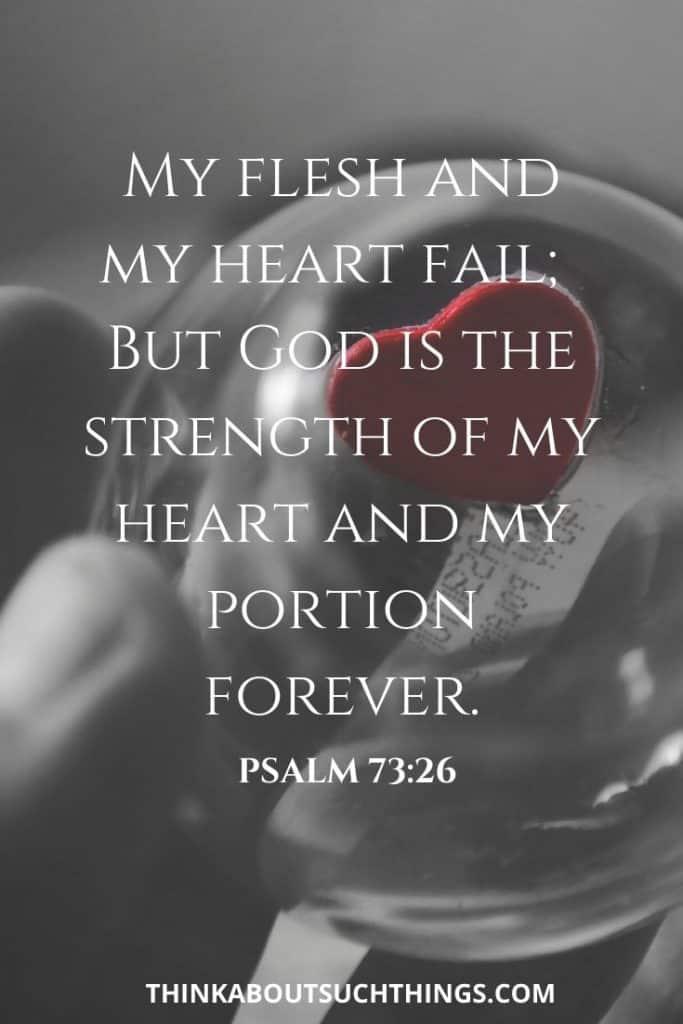 bible verses on strength and faith