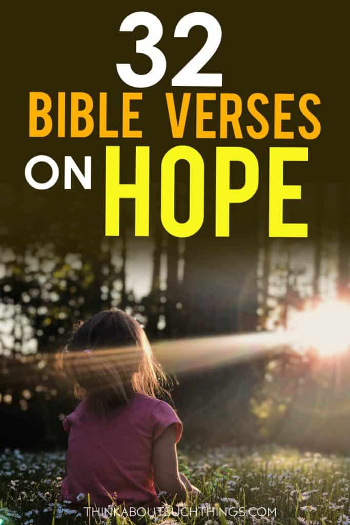 Bible verses on hope