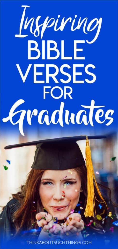 Bible Verses for Graduation