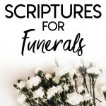 Bible verse about funerals