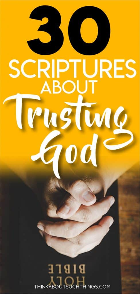 Bible Verses about Trusting God Pin 6