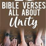 Scripture verses on unity