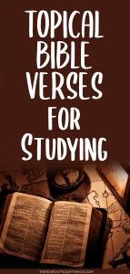 topical bible verses