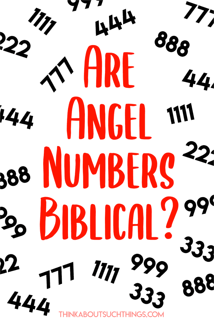Angel number in the Bible