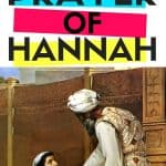 Prayer of Hannah