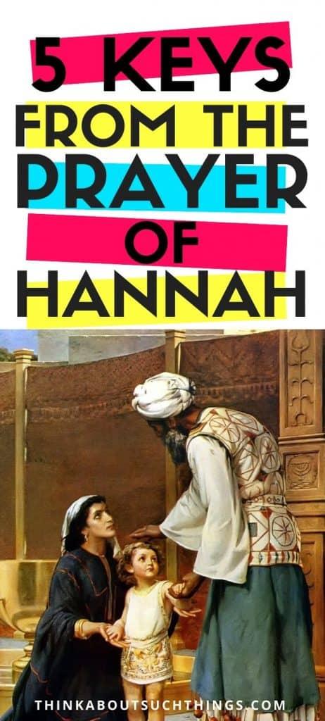 Prayer of Hannah - Bible Study