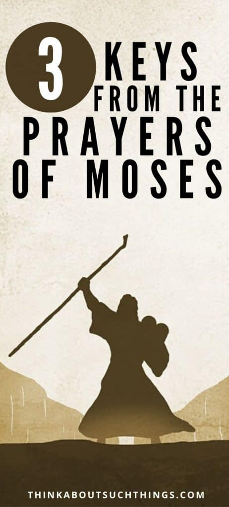 Moses' Prayer lessons