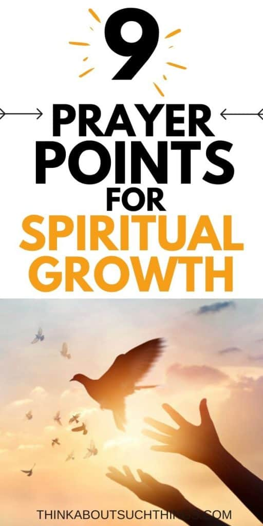 Prayer Points for Spiritual Growth