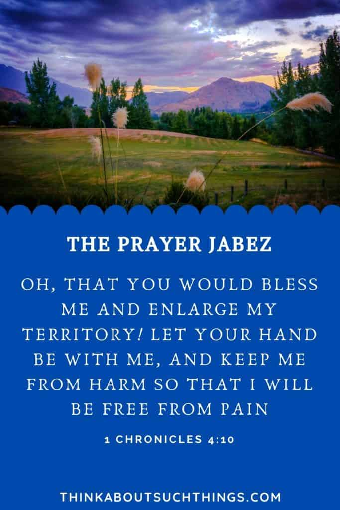 Jabez in the bible and his prayer - Bible Study