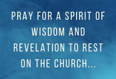 prayers for the church