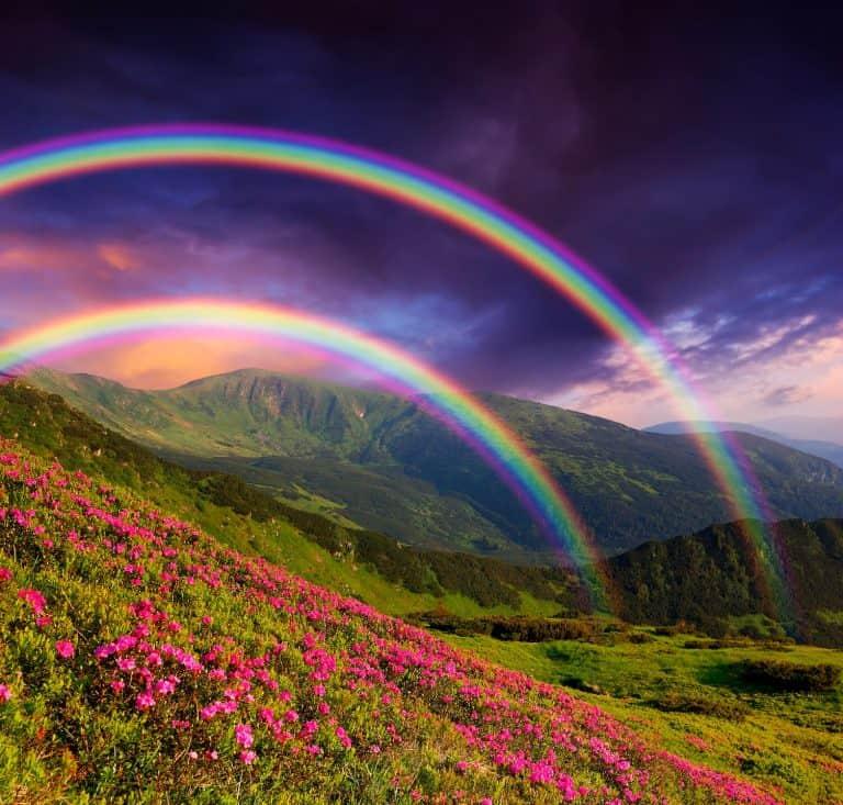 Beautiful Bible Verses About Rainbows