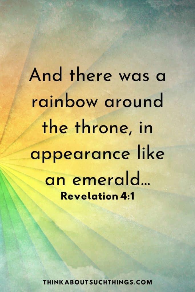 God and rainbows