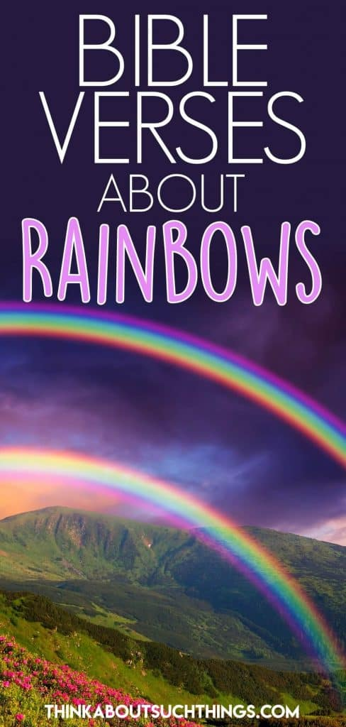 Bible Verses About Rainbows