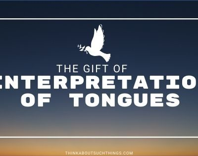 interpreting speaking in tongues