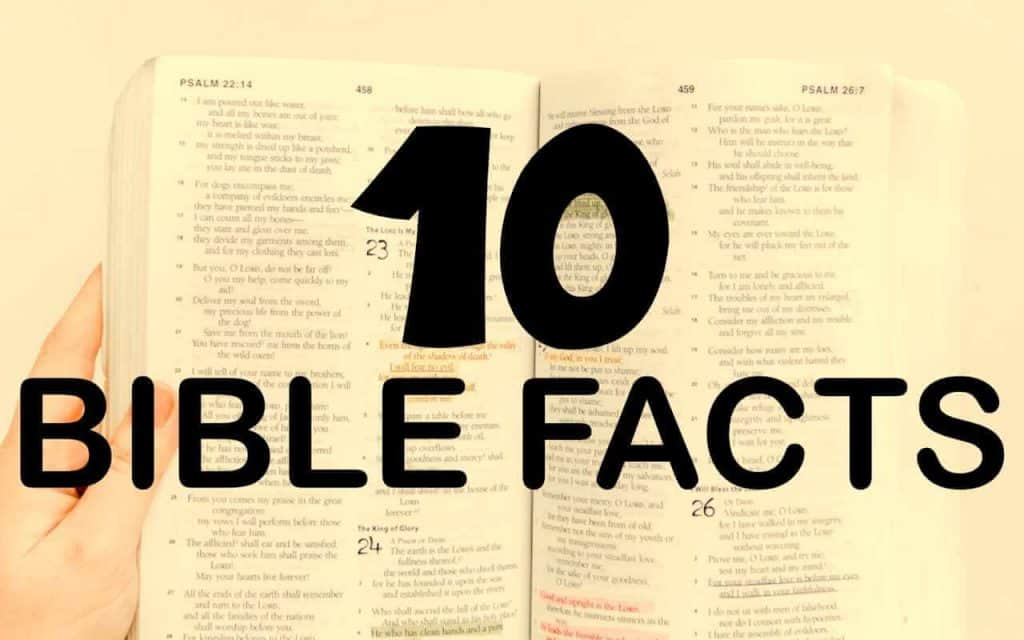 fun facts about the bible you never knew