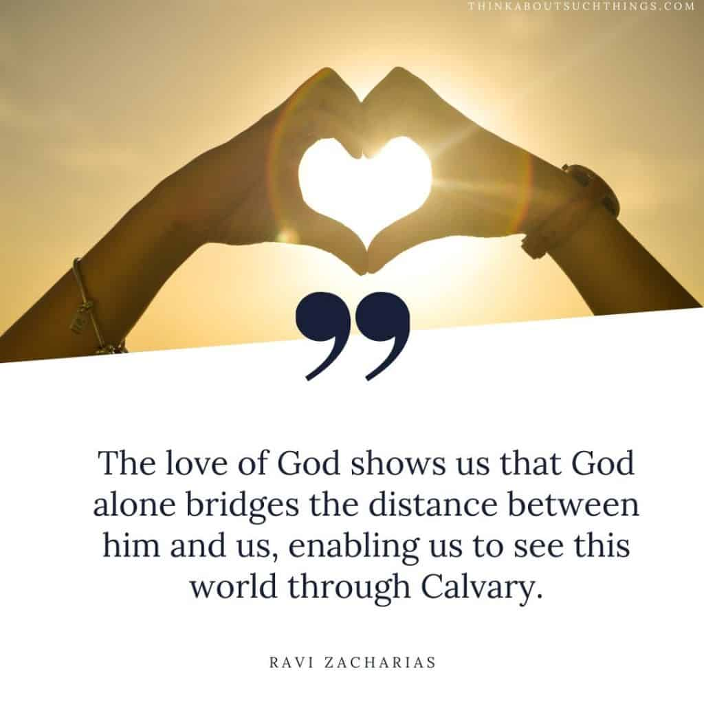 ravi zacharias quotes on love