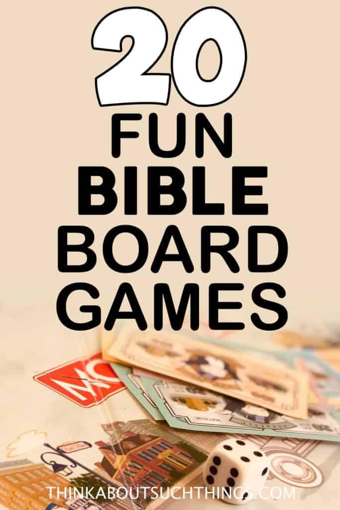 Bible Board Games