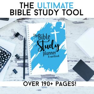 Bible Study Planner