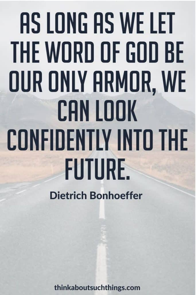 Quotes by Dietrich Bonhoeffer - Word of God