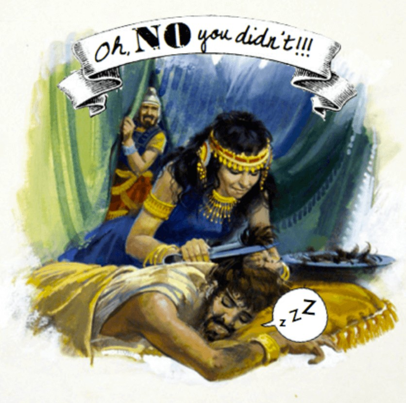 The Story of Samson and Delilah